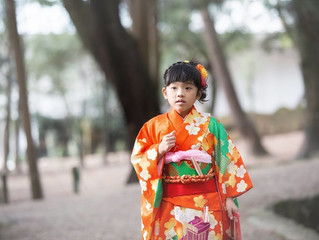 春日大社 七五三 出張撮影