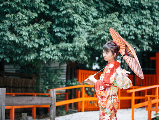 成人式前撮り 下鴨神社