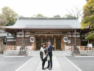 伊射奈岐神社 お宮参り出張撮影