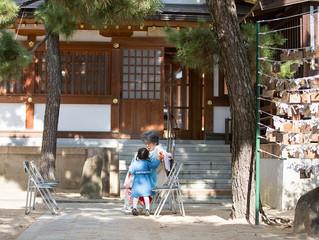 本住吉神社 お宮参り 出張撮影