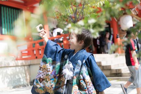 七五三  出張撮影大阪 女性カメラマン