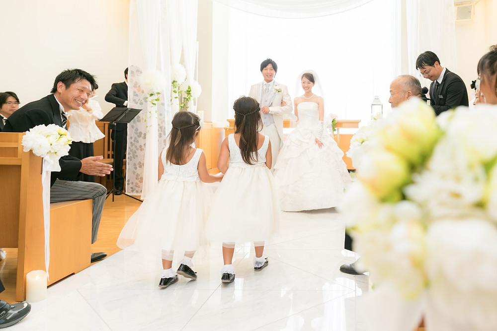 ウェディング 結婚式 出張撮影大阪