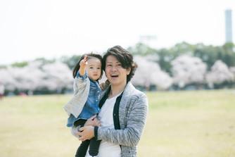 家族写真 大阪