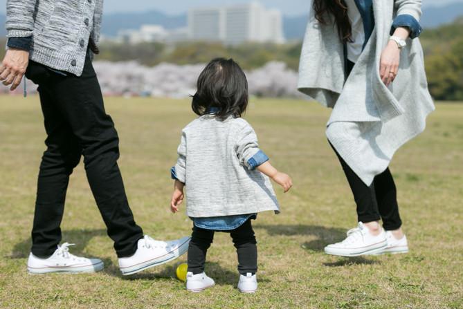家族写真 ロケーション撮影 大阪