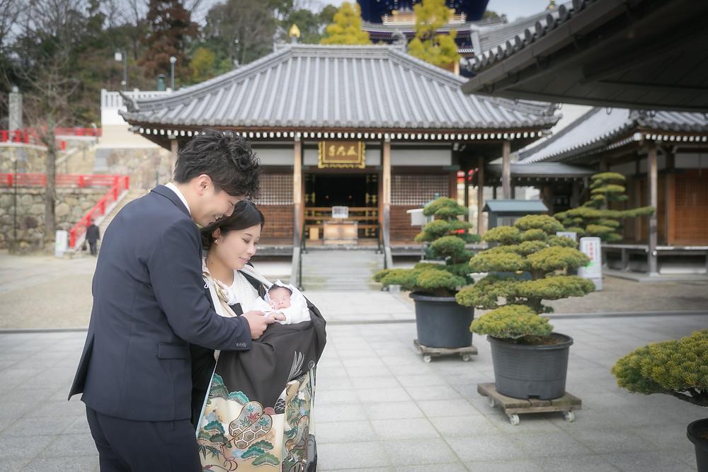 神戸 お宮参り出張撮影