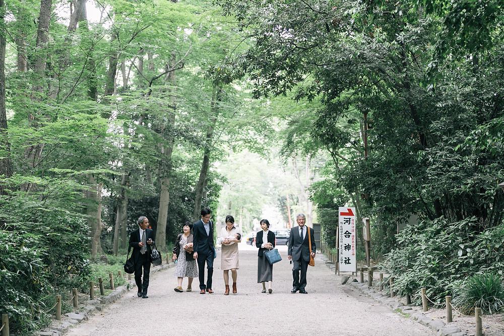 糺の森 ロケーション撮影