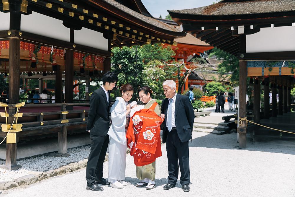 上賀茂神社 お宮参り出張撮影
