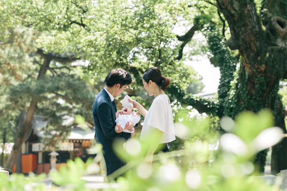 お宮参り出張撮影 大阪