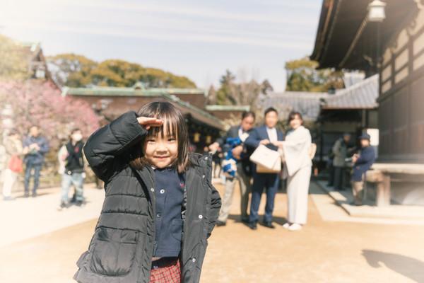 お宮参り 出張撮影 格安 子供 京都