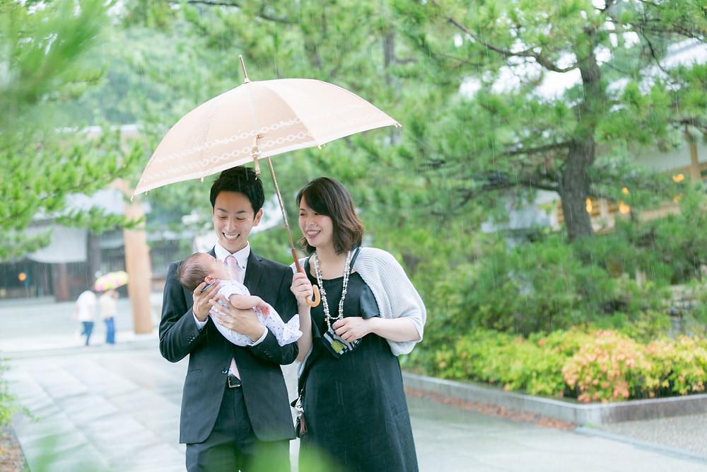 お宮参り 出張撮影 大阪