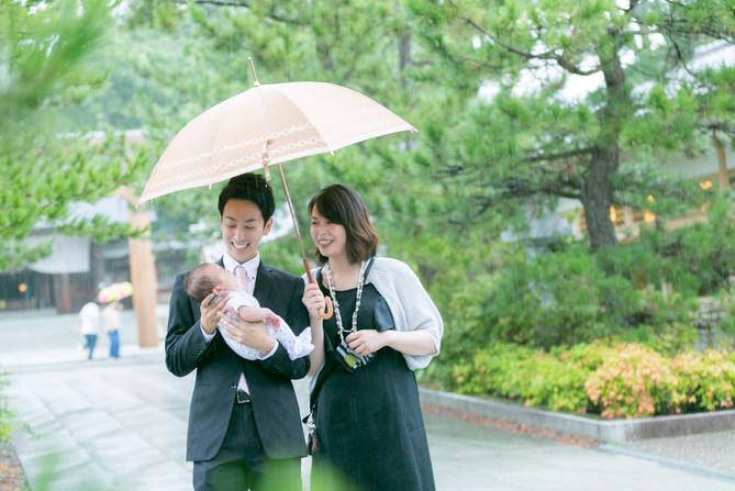 お宮参り 出張撮影大阪