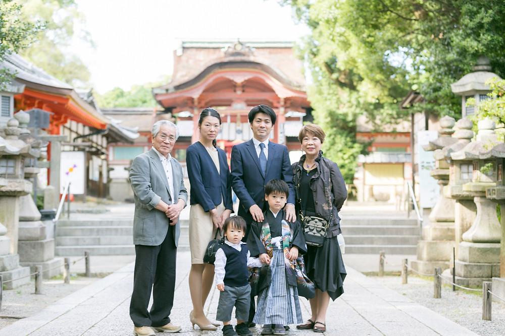 七五三 出張撮影 大阪
