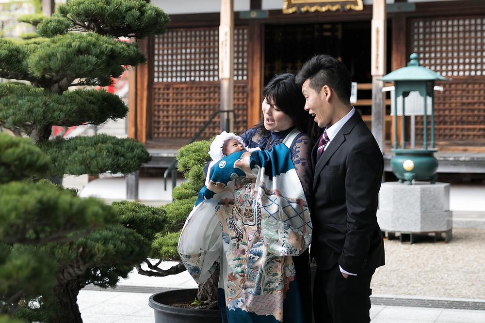 お宮参り 出張撮影 中山寺