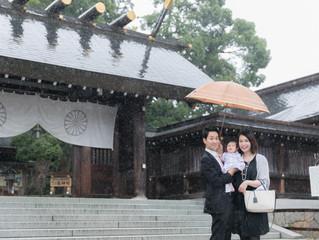 籠神社 お宮参り 出張撮影