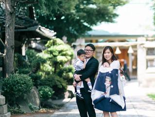 お宮参り ロケーション撮影