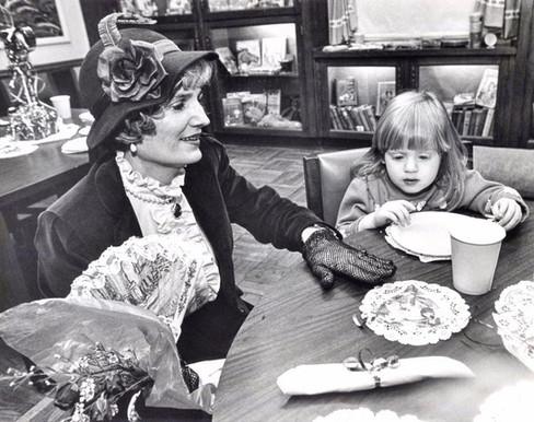 Mother Goose Valentines Tea Party