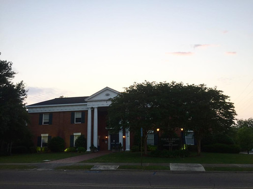 Library at Evening