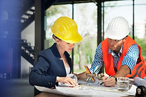 Woman-engineer-at-site-construction Free