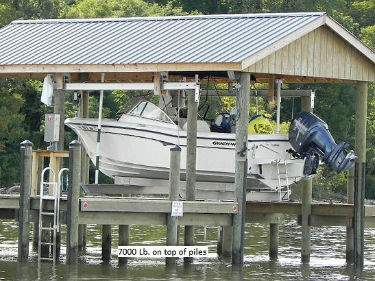 boathouse lift 7000lb.