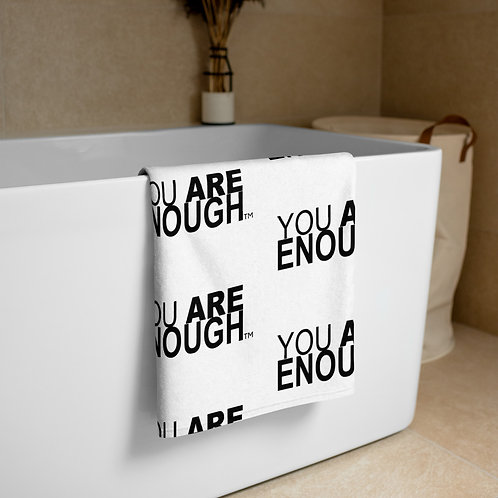 Yes, You Are Enough Towel