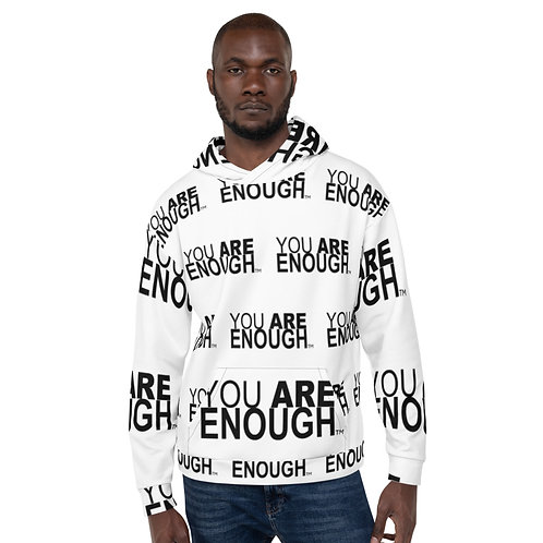 Yes, You Are Enough Unisex Hoodie