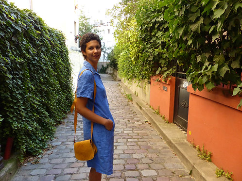 Robe Blue Linen