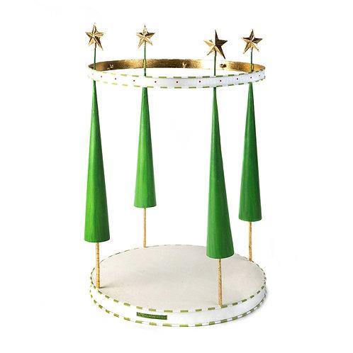 Patience Brewster Dash Away Reindeer Mini Ornament Display