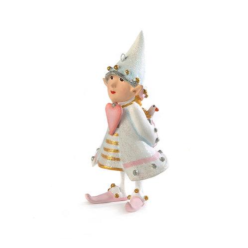 Patience brewster moonbeam cupid's elf ornament