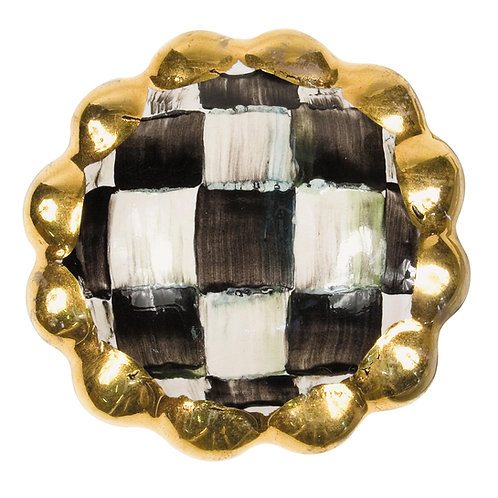 Courtly Check Round Knob