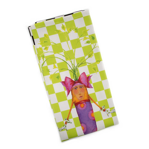 Patience Brewster Cora Carrot Dish Towel