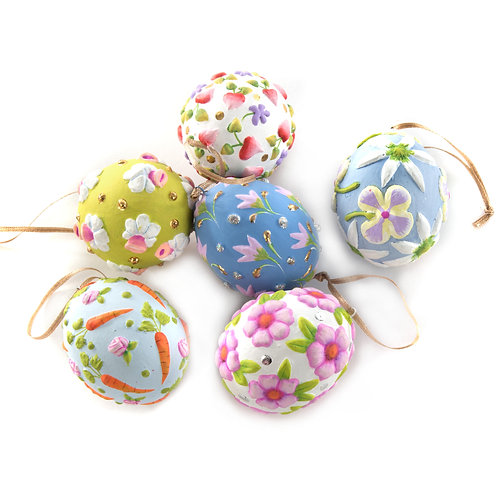 patience brewster eggs - bright - set of 6