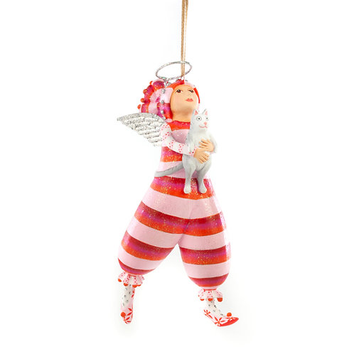 Patience Brewster Kitty Paradise Angel Ornament