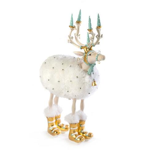 Patience Brewster Moonbeam Blitzen Reindeer Figure