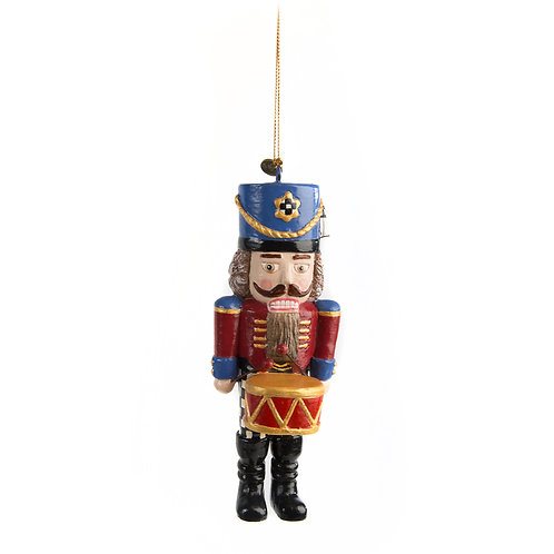 Nutcracker Drummer Ornament
