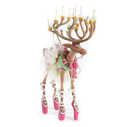Patience Brewster Dash Away Dancer Reindeer Figure