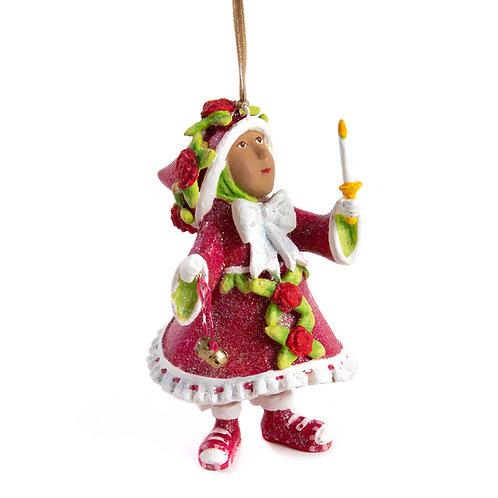 patience brewster dash away world donna's elf ornament