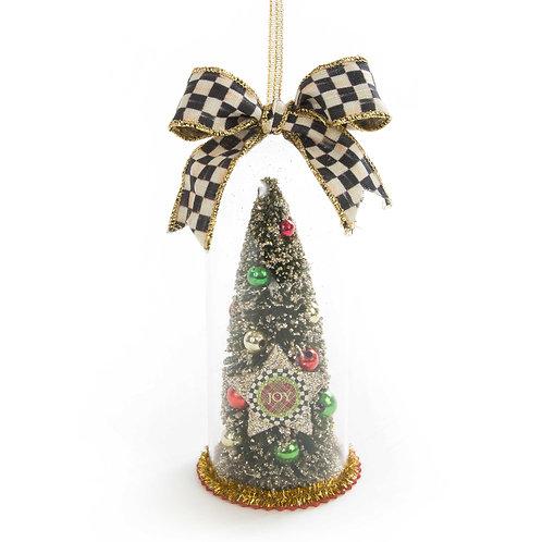 Joy cloche ornament