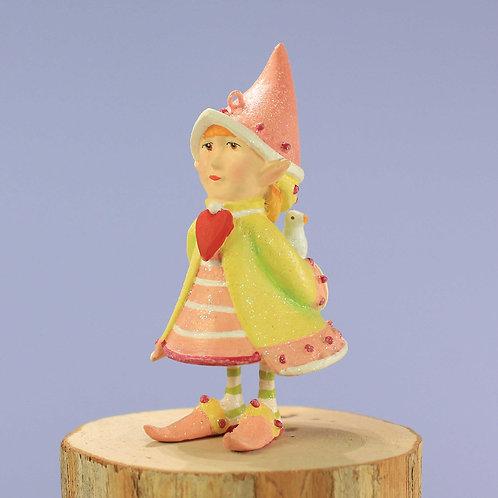 Patience brewster dash away cupid's elf mini ornament