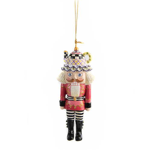 Teatime nutcracker ornament