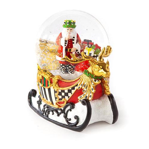 Sleigh Ride Snow Globe