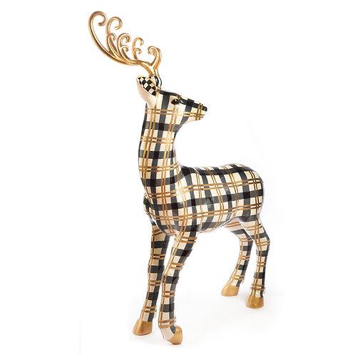 Golden Hour Tartan Standing Deer