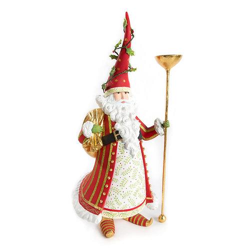 Patience Brewster Dash Away Nicolas Santa Candle Holder