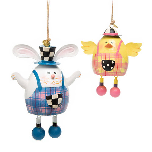 Easter Duo Ornaments - Set of 2