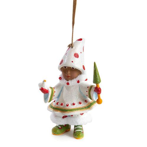 Patience Brewster Dash Away World Blitzen's Elf Ornament