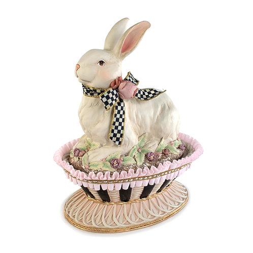 macaron bunny basket