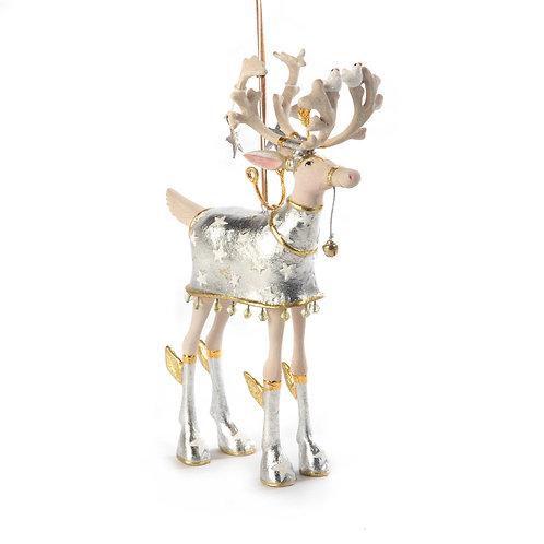 patience brewster moonbeam comet reindeer ornament