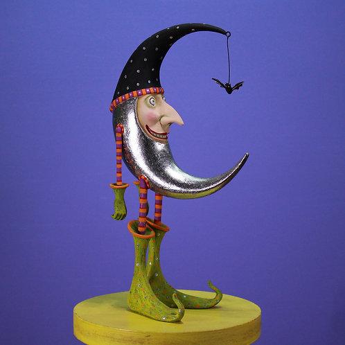 Patience Brewster Bat Moon Figure