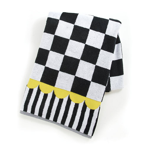 Courtly Check Bath Sheet