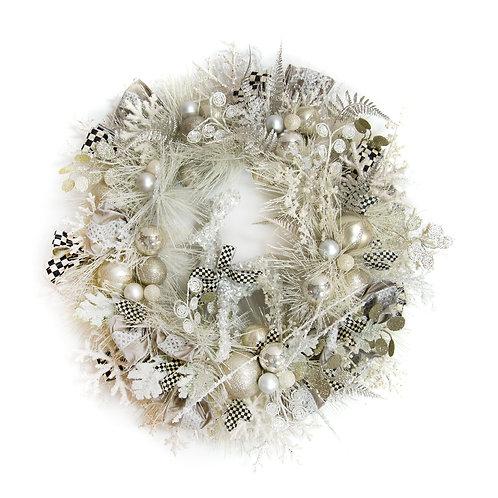 Snowfall Wreath