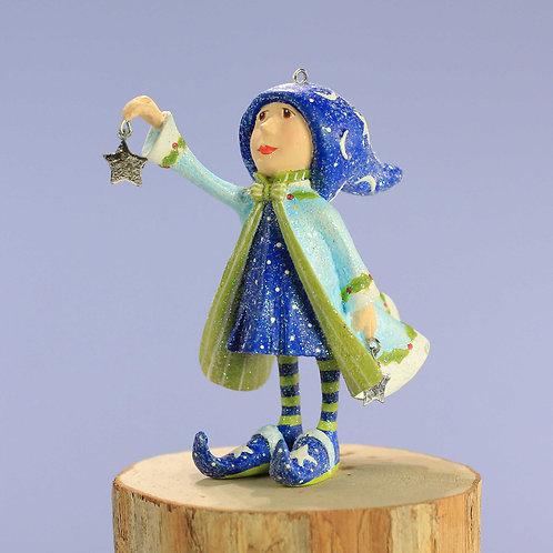 Patience brewster dash awaycomet's elf mini ornament